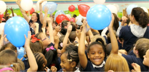 """BCSD's Okatie Elementary School Celebrates being Selected 2014's """"Palmetto's Finest""""!"""