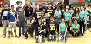 BCSD High School Students Win 2014 State Robotics Competition!