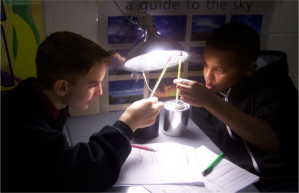 BCSD Students Collaborating in Science.