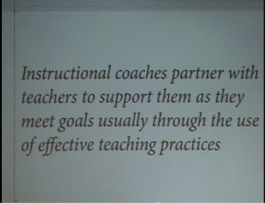 Dr. Jim Knight's Instructional Coach Definition